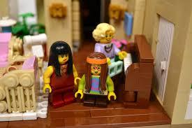 lego ideas the golden girls living room and kitchen modular set