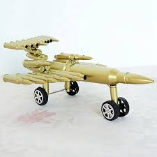 airplane home decor cool creative plane model home decor crafts iron bullet shell plane