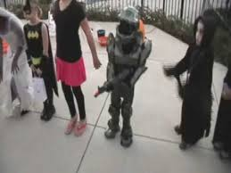 master chief halo halloween costume contest 1st place youtube