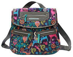 Lilly Bloom Lily Bloom Mindy Wildwoods Backpack One Size Multi Amazon Ca