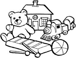 group of little kids toys coloring pages best place to color