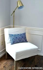 slipper chair slipcover armless chair slipcovers beautiful accent chair slipcover slipper