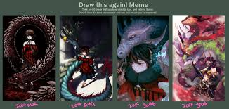 Draw This Again Meme Template - draw this again 2017 by fleetingthunderblade art memes