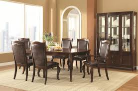 Transitional Dining Room Design Buy Louanna Transitional Leg Dining Table By Coaster From Www