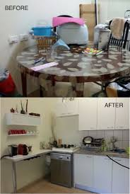 before and after ikea kitchen upgrade ikea hackers