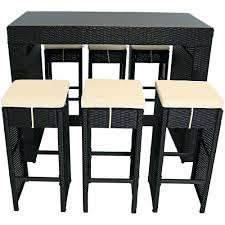 Bar Height Patio Chairs by Patio Ideas Patio Furniture Bar Height Dining Set Sutton Custom