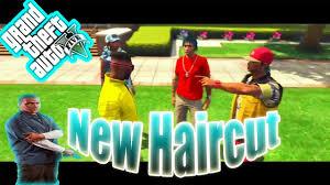 hoods haircutgame gta 5 school life in da hood ep 6 new haircut youtube