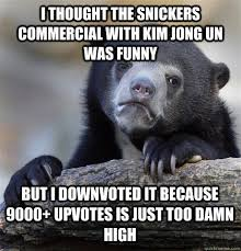 Snickers Commercial Meme - i thought the snickers commercial with kim jong un was funny but i