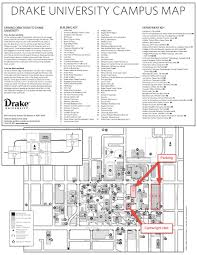 Iowa State Campus Map Drake University Map My Blog