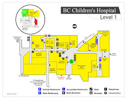 Map Of Bc Bc Childrens Hospital Map Image Gallery Hcpr