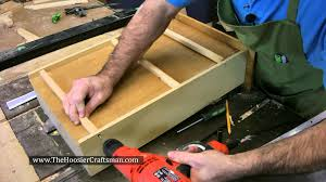diy kitchen cabinet drawer repair youtube