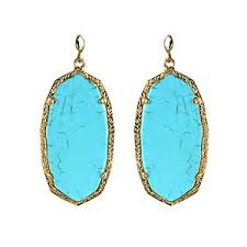 turquoise earrings kendra danielle turquoise earrings who use a