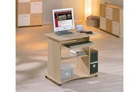 meuble pour ordinateur de bureau meubles pour ordinateur et imprimante petit bureau verre lepolyglotte