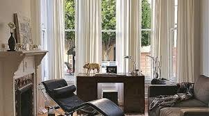 curtain ideas for bay windows in living room lovely astounding bay