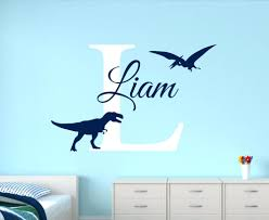 wall ideas lovely dinosaur paradise wall art decal sticker decor customize name dinosaur wall decals for boys bedroom kids room nursery wall art stickers name dinosaur wall art uk dinosaur wall art nz dinosaur wall art
