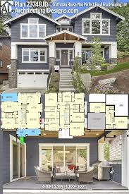front sloping lot house plans 50 sloping lot house plans home plans sles 2018 home