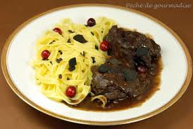 recette de cuisine civet de chevreuil civet de chevreuil au cacao et aux truffes péché de gourmandise