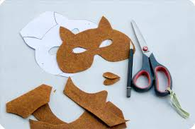 printable fox mask template face mask template sample customer