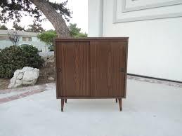 modern mid century modern bar or storage cabinet los by