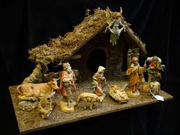 decor nativity sets scene for enchanting accessories design in