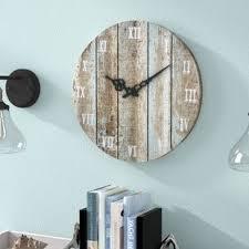 living room wall clock wall clocks you ll love wayfair