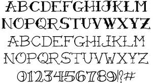 vtc freehand tattoo one font by vigilante typeface corporation
