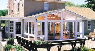 Turn Deck Into Sunroom Three Season Room Interior Designs Drab Deck Turns Into Turn
