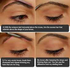 proper way to fill in eyebrows step by step eyebrow filling tutorial miss natty s beauty diary