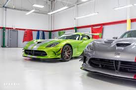 Dodge Viper Green - dynamic photowerks dodge viper factory delivery