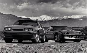 1986 mustang gt specs 1986 ford mustang lx 5 0 vs chevrolet camaro iroc z archived
