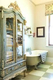 Shabby Chic Bathroom Storage Shabby Chic Bathroom Vanity Mirror Stroymarket Info