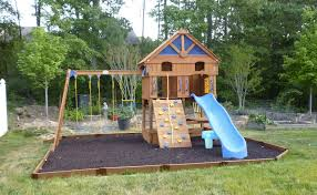 Home Carpentry Diy Landscaping Garden How To Build A Backyard Play - Backyard playground designs