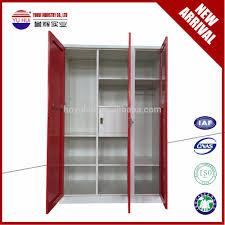 Clothes Cabinet 3 Door Steel Wardrobe Cabinet 3 Door Steel Wardrobe Cabinet