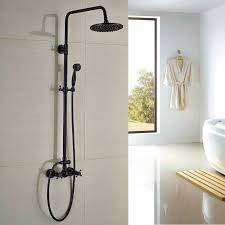 bathroom bathroom shower heads and faucets recessed rain shower