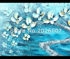 online shop hand painted landscape abstract palette knife gold