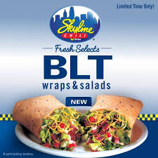 chili gift card new skyline chili blt wraps and salads a 25 gift card giveaway