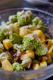 thanksgiving side dish roasted romanesco foodie for