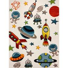 Outer Space Rug Kc Cubs Boy And Bedroom Modern Decor Area Rug And Carpet