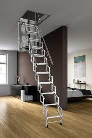 scale retrattili per soffitte scala retrattile motorizzata e coibentata scala retrattile automatica