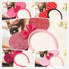 hello headband mickey minnie headband elsa mouse ear hair band small mouse