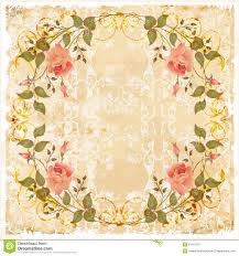 vintage cards vintage greeting card stock vector illustration of grubby 13215287
