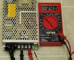 how to wire up the adjustable mean well power supplies