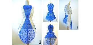3doodler 3d printing pen 2 incredible dress 3d printed with the 3doodler pen by fashion house