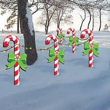 Christmas Yard Decorations Candy by Christmas Candy Canes Holiday Wooden Yard By Fabsspiritcentral
