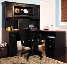 black corner computer desk corner computer desk with hutch in black color pinteres