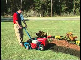 Flower Bed Edger E Z Trench Bedscaper Bed Edgers Youtube