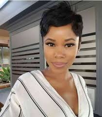 the best pixie cut for black hair pictures design black hair pixie cut simple stylish haircut