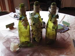 themed centerpieces for weddings centerpiece for wine theme bridal shower random