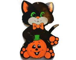 Vintage Halloween Decorations Vintage Halloween Decor Etsy