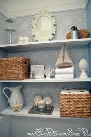 Wicker Bathroom Shelf Floating White Bathroom Shelves White Porcelain Floor Wicker